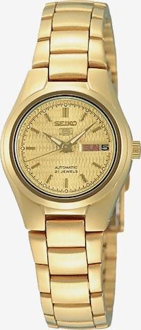 SEIKO Uhr 'SYMC07K1' in Gold