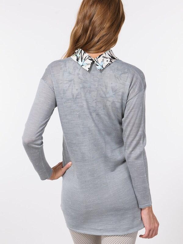 ESPRIT Strickjacke Strickjacke Strickjacke in grau  Große Preissenkung 683e1b