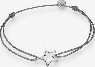 Glanzstücke München Armband in basaltgrau / silber, Produktansicht