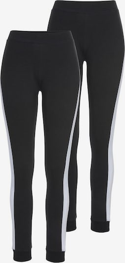 ARIZONA Leggings in schwarz / weiß, Produktansicht