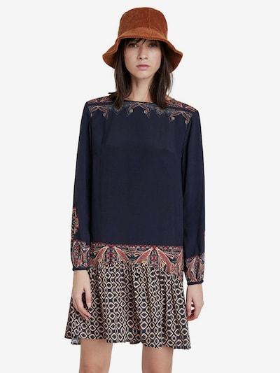 Desigual Kleid 'Vest Praga' in schwarz, Modelansicht