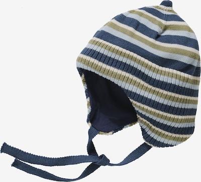 NAME IT Mütze in nachtblau / grün / weiß, Produktansicht