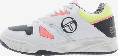 Sergio Tacchini Tennisschuh 'Top Play' in gelb / lachs / schwarz / weiß, Produktansicht