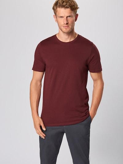 JACK & JONES T-Shirt en rouge: Vue de face