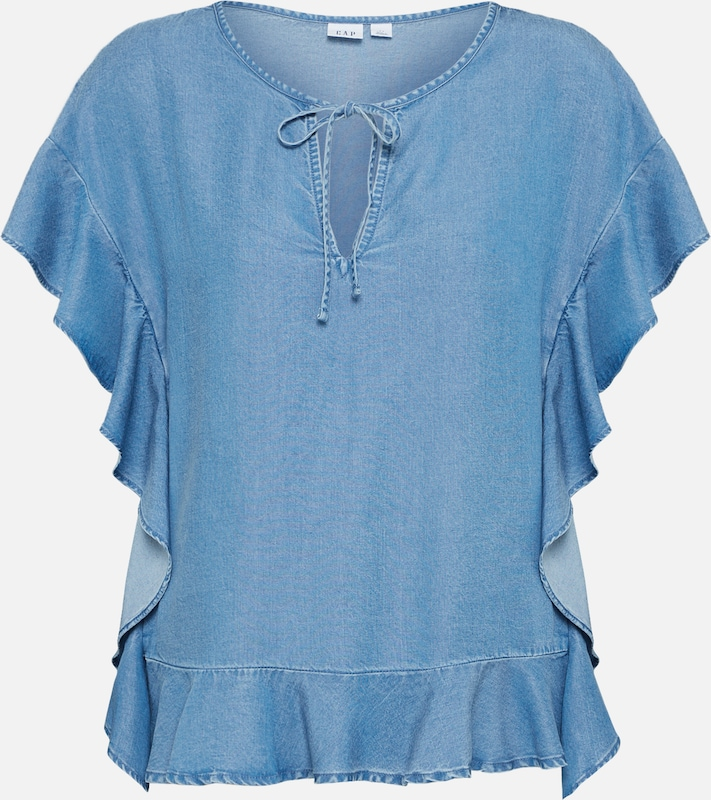 shirt Bleu T Denim Gap En 5Lq3R4Acj