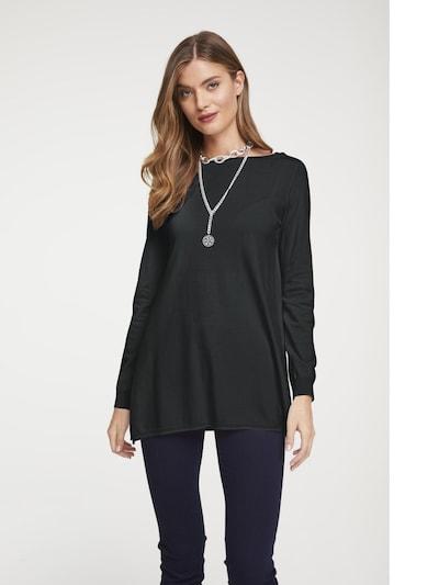 heine Široki pulover 'Timeless' u crna: Prednji pogled