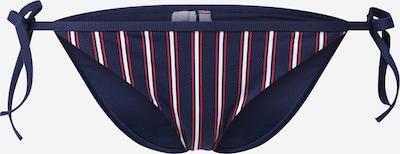 TOMMY HILFIGER Bikinihose in marine / rot / weiß, Produktansicht