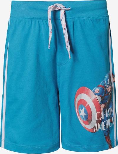 Marvel Avengers Shorts in blau / rot / weiß, Produktansicht