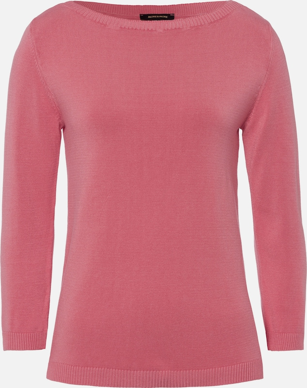 MORE & MORE Pullover in rosa, Produktansicht
