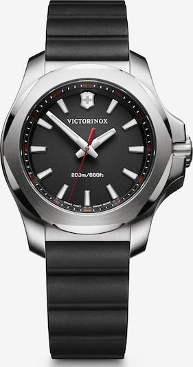 VICTORINOX Montre à affichage analogique 'I.N.O.X. V' en noir / argent, Vue avec produit