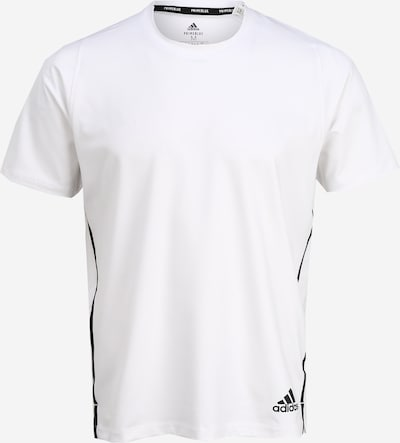 ADIDAS PERFORMANCE Functioneel shirt 'Primeblue' in de kleur Zwart / Wit, Productweergave