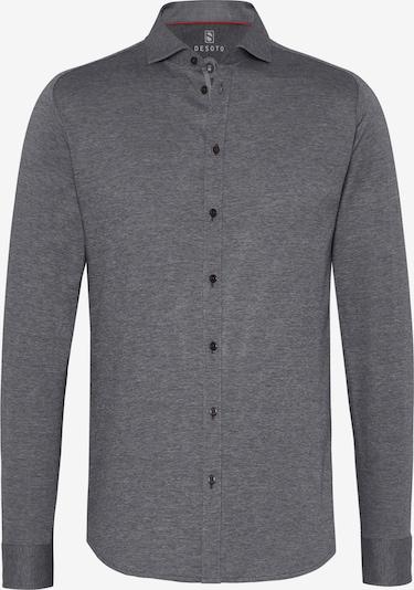 DESOTO Hemd in graumeliert, Produktansicht