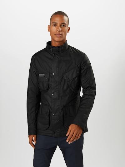 Barbour International Jacke in schwarz: Frontalansicht