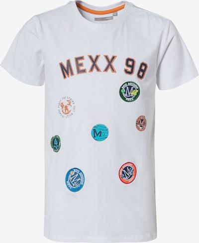 MEXX T-Shirt in blau / navy / grün / dunkelorange / weiß, Produktansicht
