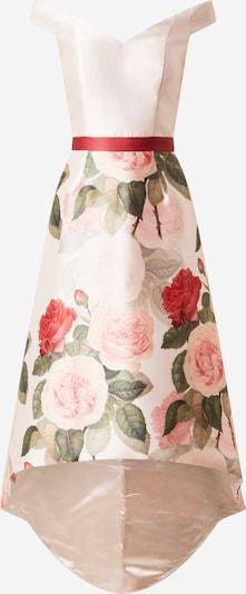 Chi Chi London Kleid in grün / rosé / rot, Produktansicht