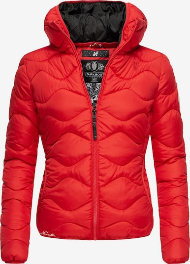 NAVAHOO Winterjacke ' Key Color ' in rot / schwarz, Produktansicht