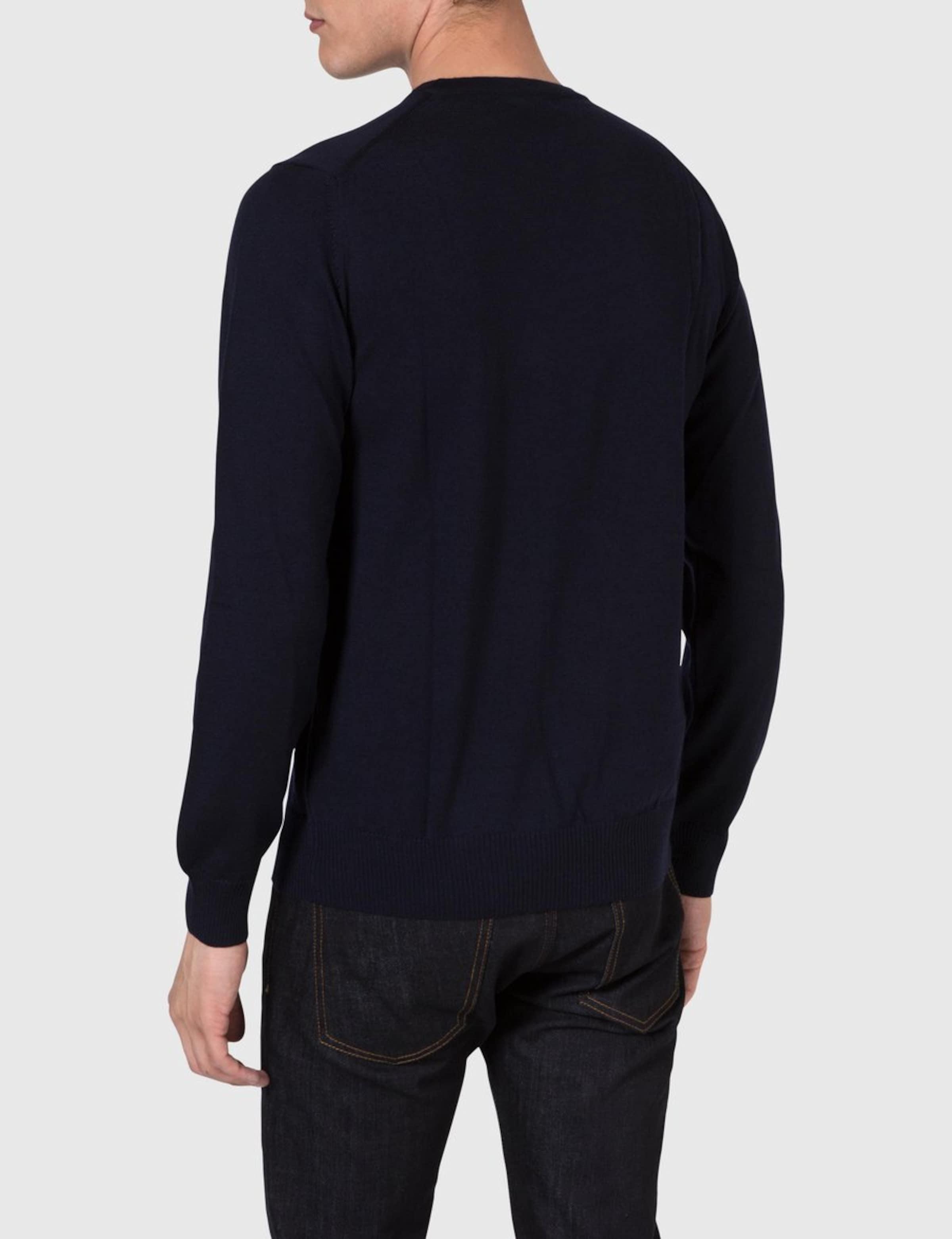 Lymann lindeberg Knit In Merino Blau Pullover True J XPTOkZiu
