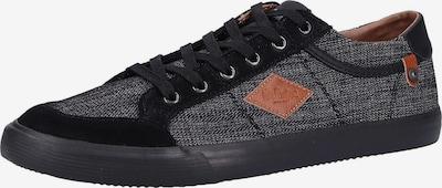 Lee Cooper Sneakers laag in de kleur Zwart / Zwart gemêleerd, Productweergave
