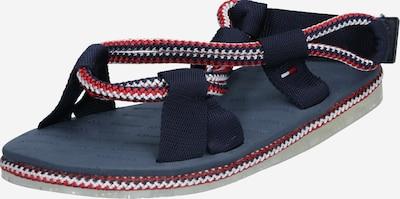 Tommy Jeans Sandale in dunkelblau / rot, Produktansicht