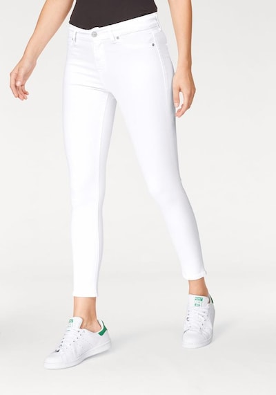 LTB 'Lonia' Super Skinny Mid Rise Jeans in weiß, Modelansicht