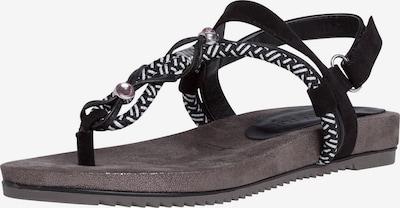 TAMARIS Sandaal in de kleur Zwart, Productweergave