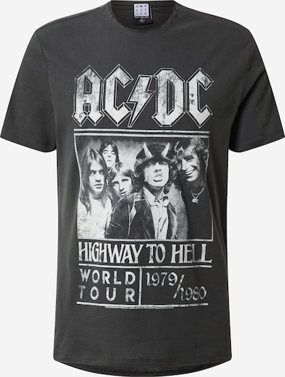 AMPLIFIED Shirt 'ACDC HIGHWAY TO HELL' in de kleur Donkergrijs, Productweergave