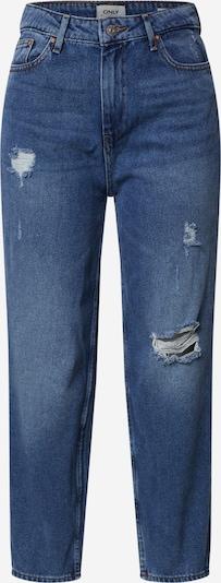 Jeans 'ONLKELIS HW NEW MOM DESTROY JEAN' ONLY pe denim albastru, Vizualizare produs