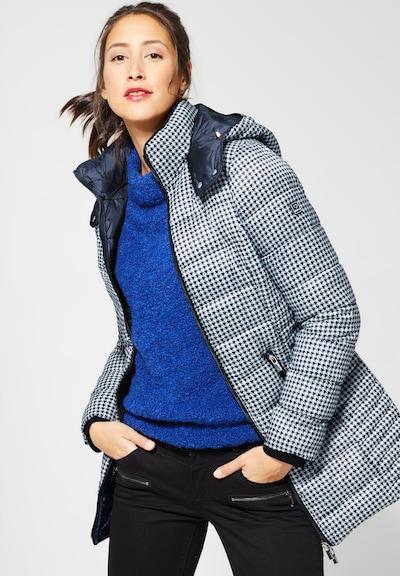 STREET ONE Mantel in blau / weiß, Modelansicht