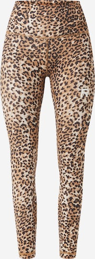 Ragdoll LA Leggings 'Work Out Legging' in de kleur Bruin / Zwart, Productweergave