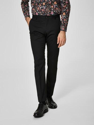 SELECTED HOMME Anzughose in schwarz, Modelansicht