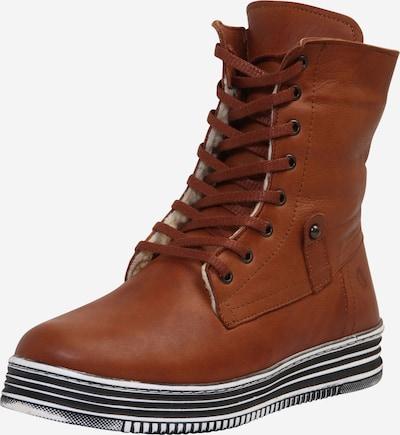 COSMOS COMFORT Čizme sa vezicama u konjak, Pregled proizvoda