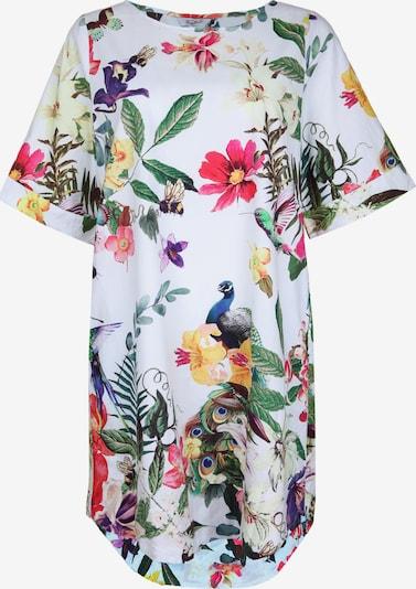 Frogbox Kleid mit Blumenmuster in mischfarben / weiß, Produktansicht