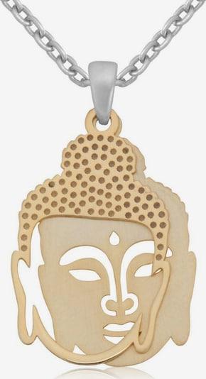 FIRETTI Kette 'Buddha' in silber, Produktansicht