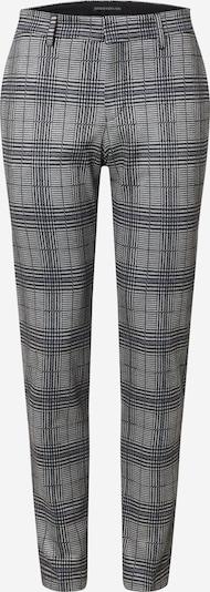 DRYKORN Chino nohavice 'Sight' - modrá / sivá / biela: Pohľad spredu