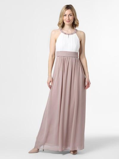 Marie Lund Abendkleid in lila / weiß, Modelansicht