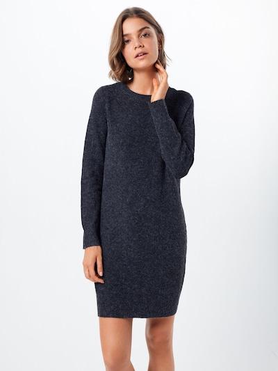 VERO MODA Robes en maille 'DOFFY' en noir, Vue avec modèle