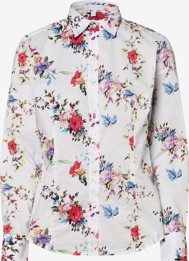 Brookshire Bluse in mischfarben / weiß, Produktansicht