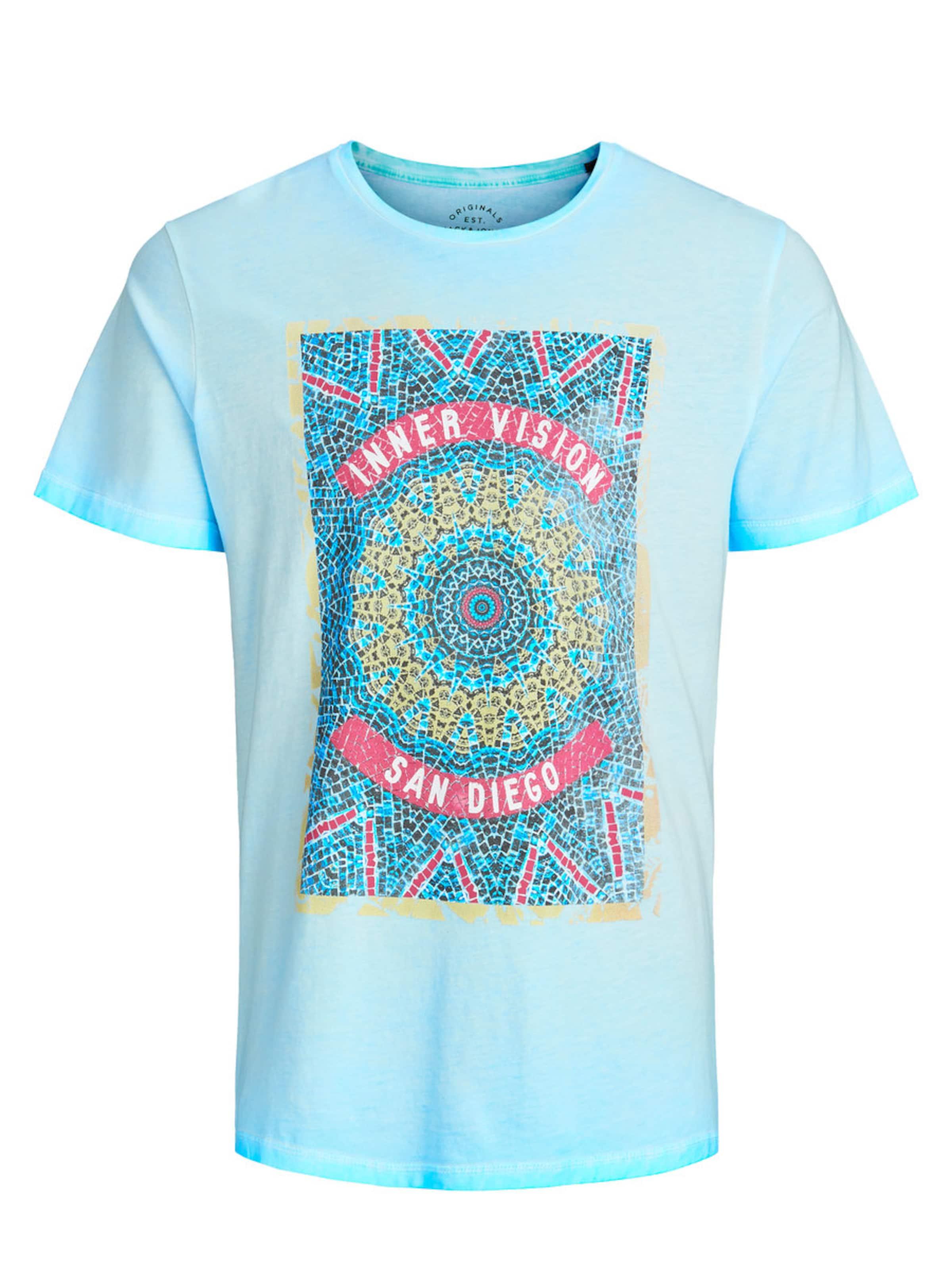 Jackamp; In shirt Hellblau T Jones nwO0Pk
