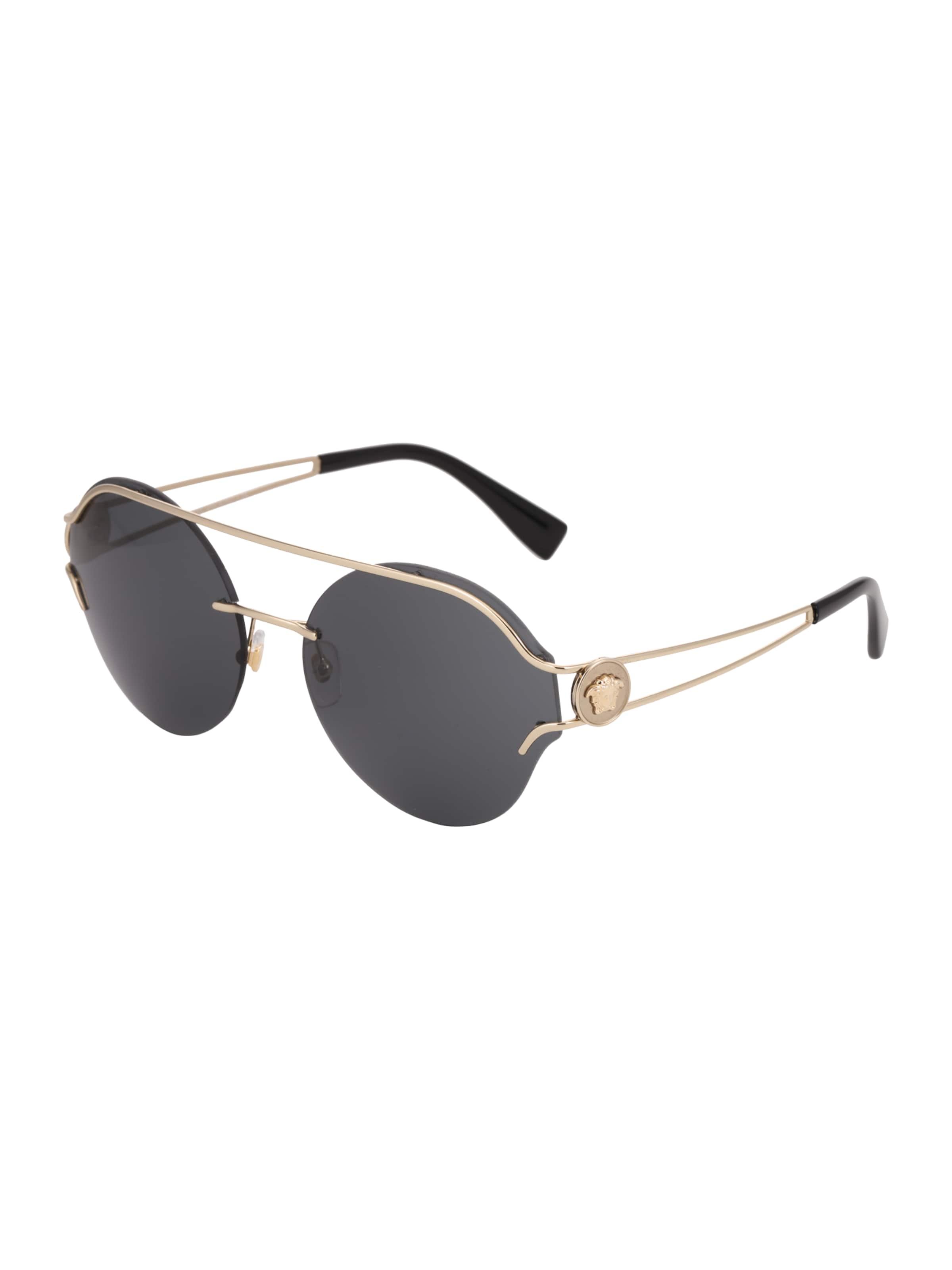 VERSACE Casual Sonnenbrille im Piloten-Style Spielraum Besuch Neu 1IZ05uF