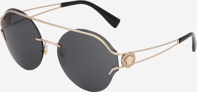 VERSACE Casual Sonnenbrille im Piloten-Style in gold / grau, Produktansicht