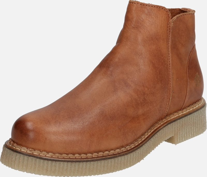 Apple of Eden Stiefelette 'DYANI' in cognac, Produktansicht