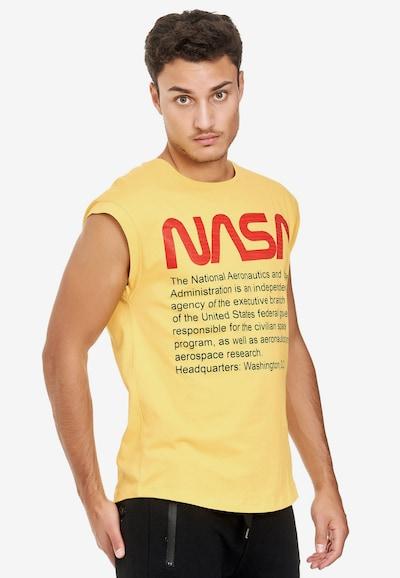 Redbridge Shirt 'Washington NASA' in de kleur Geel: Vooraanzicht