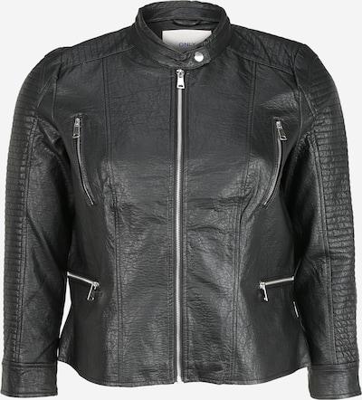 ONLY Carmakoma Bikerjacke in schwarz, Produktansicht