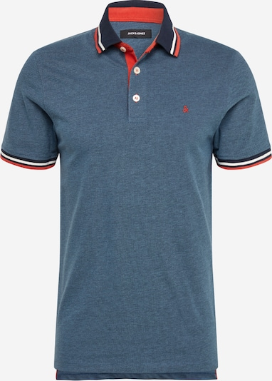 JACK & JONES Poloshirt in blau, Produktansicht