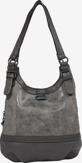 TOM TAILOR Shopper 'Juna' in grau / dunkelgrau, Produktansicht