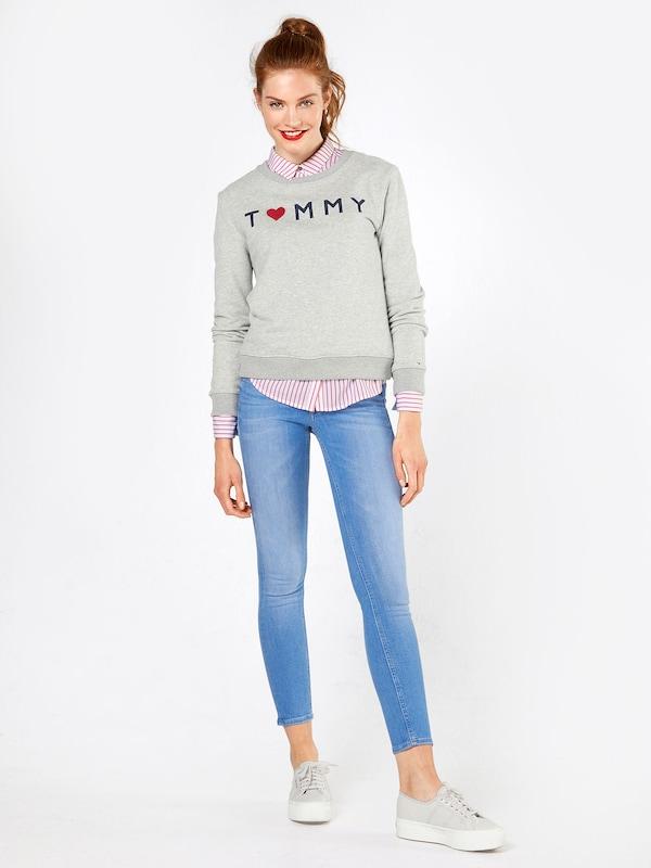 Tommy Jeans Bluse mit Streifen-Design