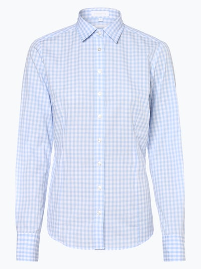 Brookshire Bluse in hellblau / weiß, Produktansicht