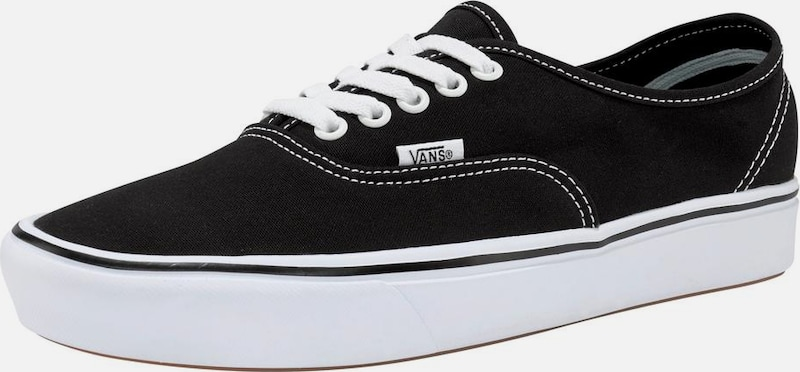 VANS Sneaker 'ComfyCush Authentic' in schwarz / weiß, Produktansicht
