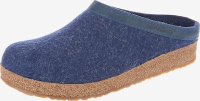 HAFLINGER Pantolette 'Torben' in blau, Produktansicht