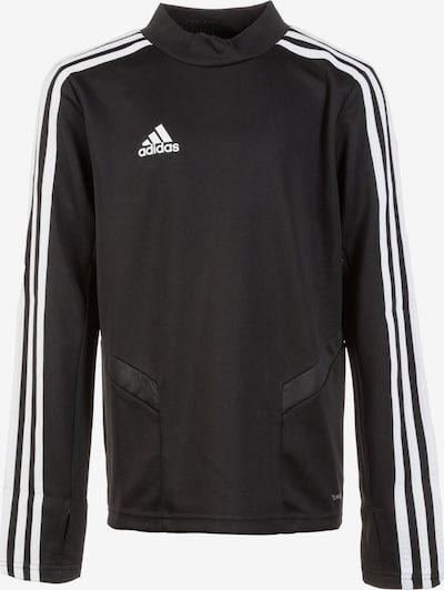 ADIDAS PERFORMANCE Funktionsshirt 'Tiro 19' in schwarz / weiß, Produktansicht